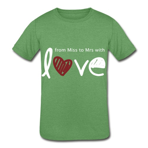 From Miss To Mrs - Kids' Tri-Blend T-Shirt