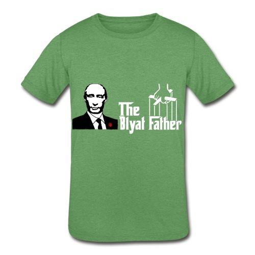 The Blyat Father - Kids' Tri-Blend T-Shirt