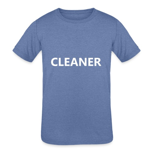 Cleaner - Kids' Tri-Blend T-Shirt