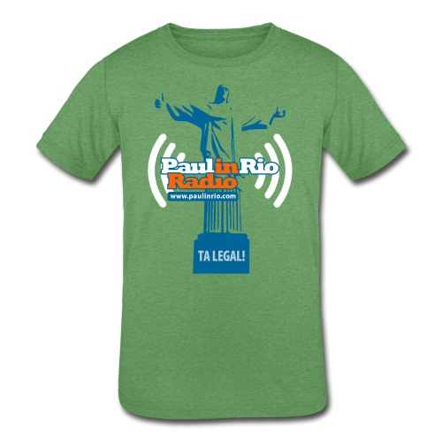 Paul in Rio Radio - The Thumbs up Corcovado #2 - Kids' Tri-Blend T-Shirt
