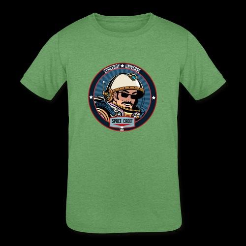 Spaceboy - Space Cadet Badge - Kids' Tri-Blend T-Shirt