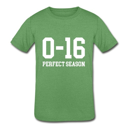 Detroit Lions 0 16 Perfect Season - Kids' Tri-Blend T-Shirt