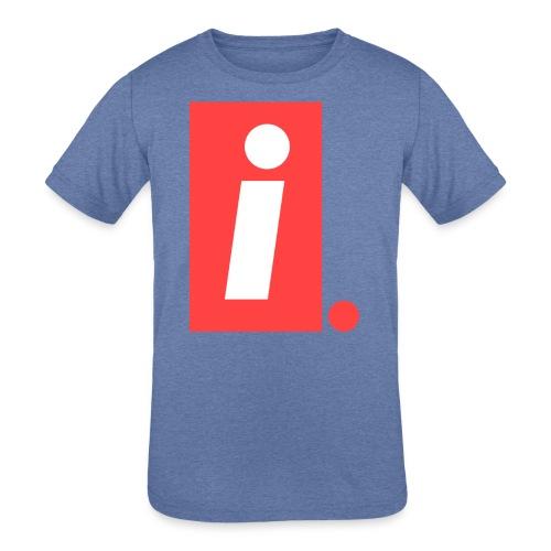 Ideal I logo - Kids' Tri-Blend T-Shirt