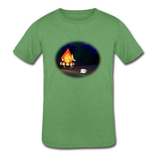 'Round the Campfire - Kids' Tri-Blend T-Shirt