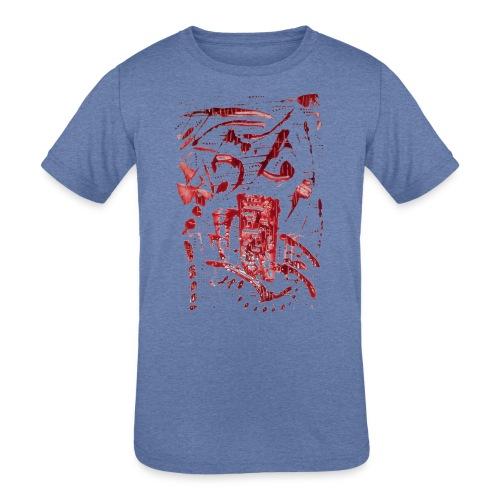 Xasl - Kids' Tri-Blend T-Shirt