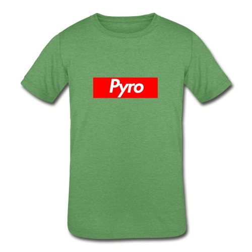 pyrologoformerch - Kids' Tri-Blend T-Shirt