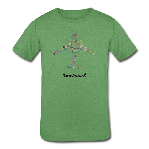 Time To Travel - Kids' Tri-Blend T-Shirt