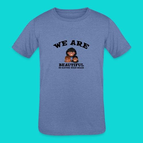 You are Beautiful Black Woman - Kids' Tri-Blend T-Shirt