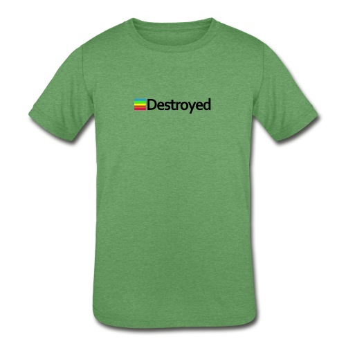 Polaroid Destroyed - Kids' Tri-Blend T-Shirt