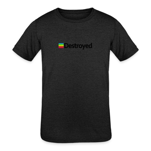 Polaroid Destroyed - Kids' Tri-Blend T-Shirt