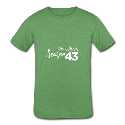 SBT43 Season43 LOGO WHT - Kids' Tri-Blend T-Shirt