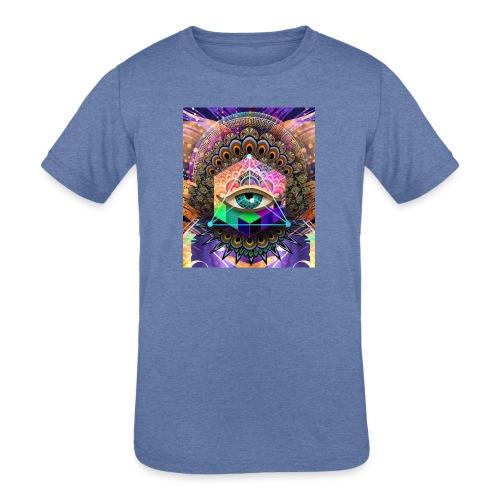 ruth bear - Kids' Tri-Blend T-Shirt