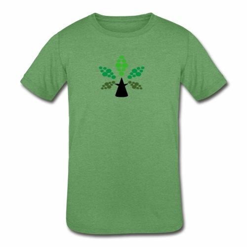 Tri City TriChomes FINAL LOGO 645AM 1 - Kids' Tri-Blend T-Shirt