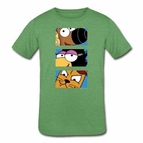 Rantdog Trio - Kids' Tri-Blend T-Shirt