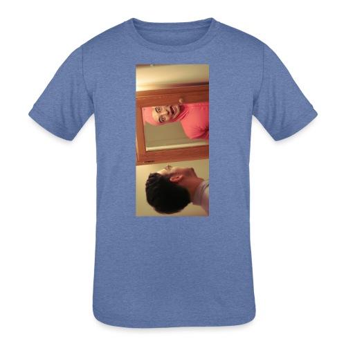 pinkiphone5 - Kids' Tri-Blend T-Shirt