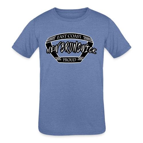 East Coast Proud Banner - Kids' Tri-Blend T-Shirt