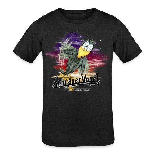 schräger Vogel - Kids' Tri-Blend T-Shirt