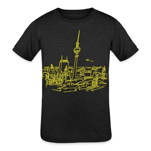 Panorama of Berlin - Kids' Tri-Blend T-Shirt