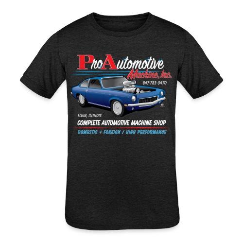 ProAutoTeeDesign062317fin - Kids' Tri-Blend T-Shirt