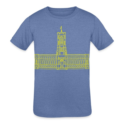 Red City Hall Berlin - Kids' Tri-Blend T-Shirt
