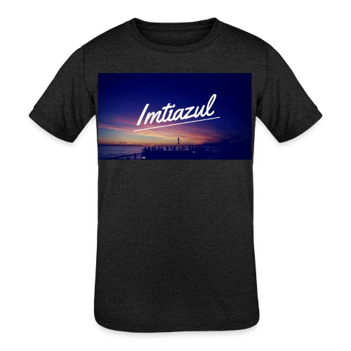 Copy of imtiazul - Kids' Tri-Blend T-Shirt