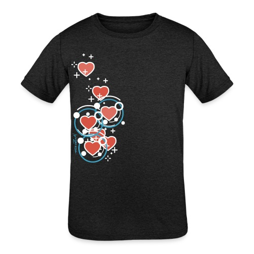 SuperHearts - Kids' Tri-Blend T-Shirt
