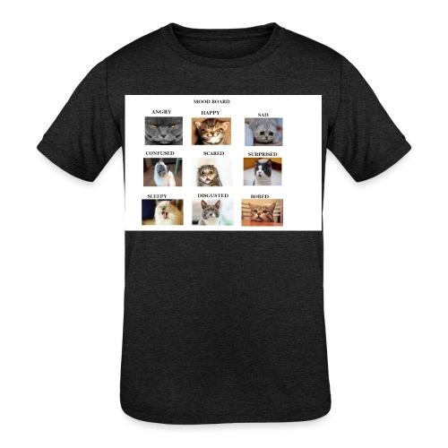 MOOD BOARD - Kids' Tri-Blend T-Shirt