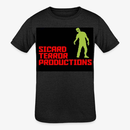 Sicard Terror Productions Merchandise - Kids' Tri-Blend T-Shirt