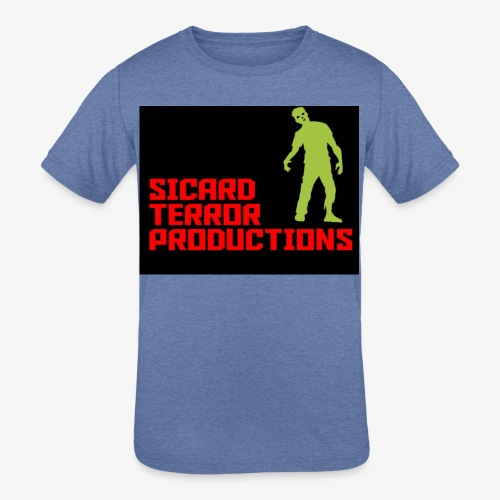 Sicard Terror Productions Merchandise - Kids' Tri-Blend T-Shirt
