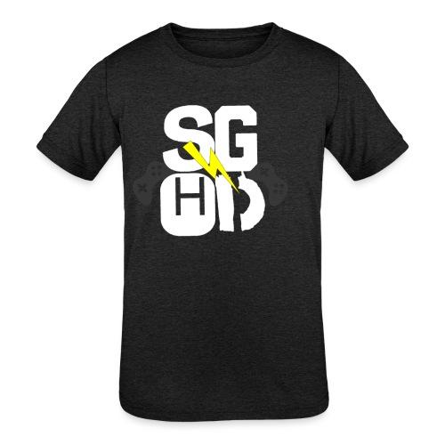 IMG_0350 - Kids' Tri-Blend T-Shirt