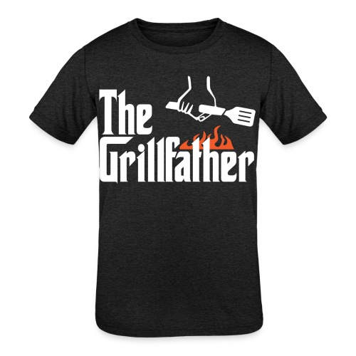 The Grillfather - Kids' Tri-Blend T-Shirt