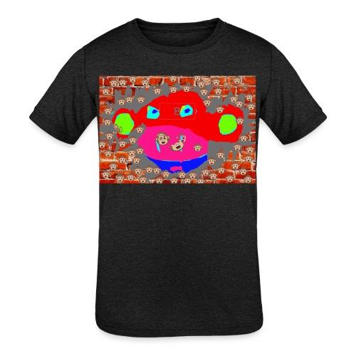 monkey by brax - Kids' Tri-Blend T-Shirt