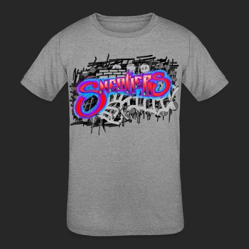Sneakers Graffiti - Kids' Tri-Blend T-Shirt