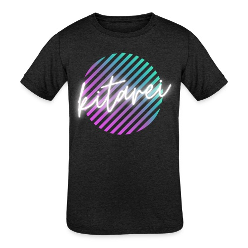 Kitarei Neon - Kids' Tri-Blend T-Shirt