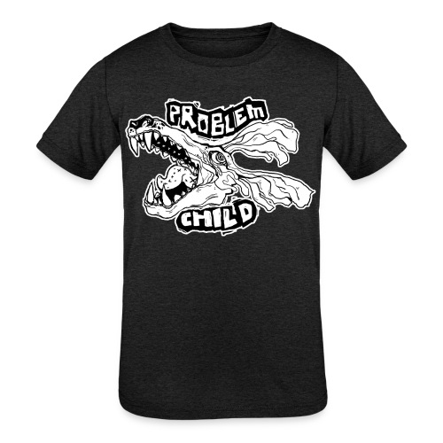 PROBLEM CHILD - Kids' Tri-Blend T-Shirt