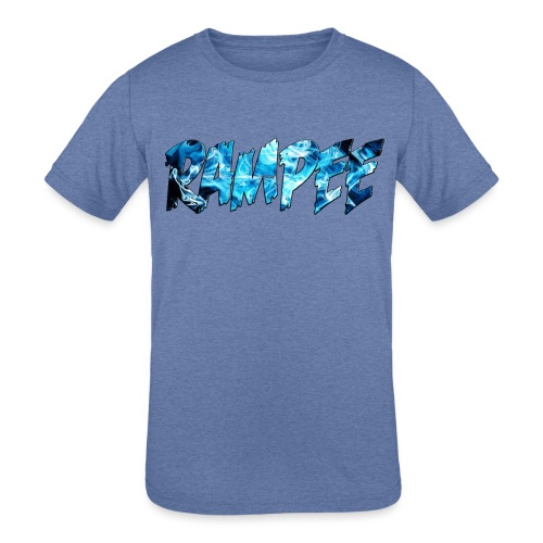 Blue Ice - Kids' Tri-Blend T-Shirt