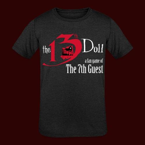 The 13th Doll Logo - Kids' Tri-Blend T-Shirt