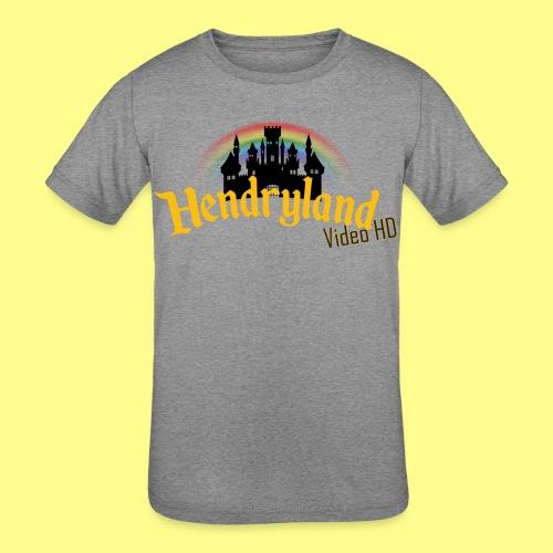 HENDRYLAND logo Merch - Kids' Tri-Blend T-Shirt