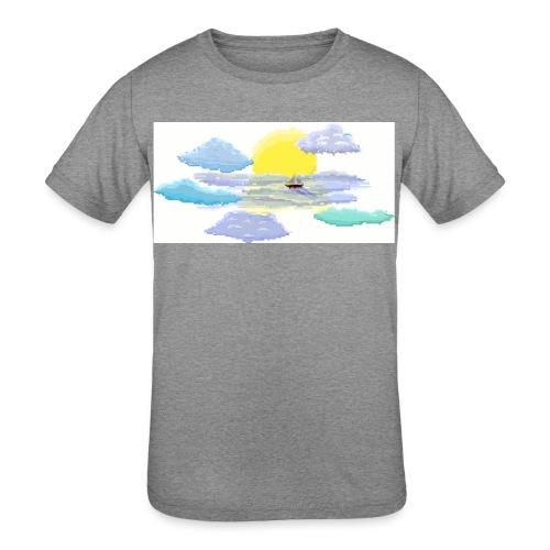 Sea of Clouds - Kids' Tri-Blend T-Shirt