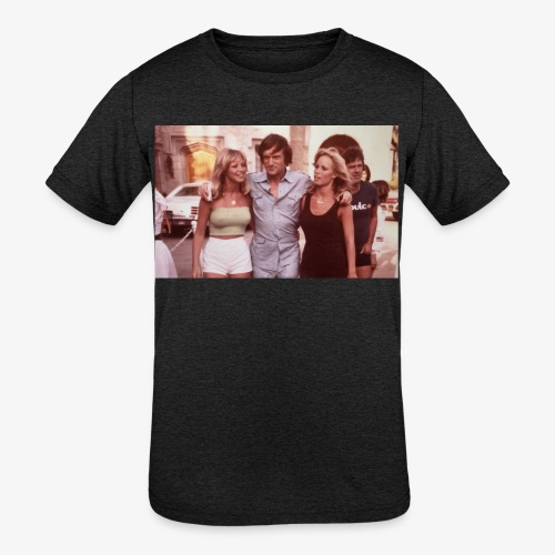 Hugh Hefner - Kids' Tri-Blend T-Shirt