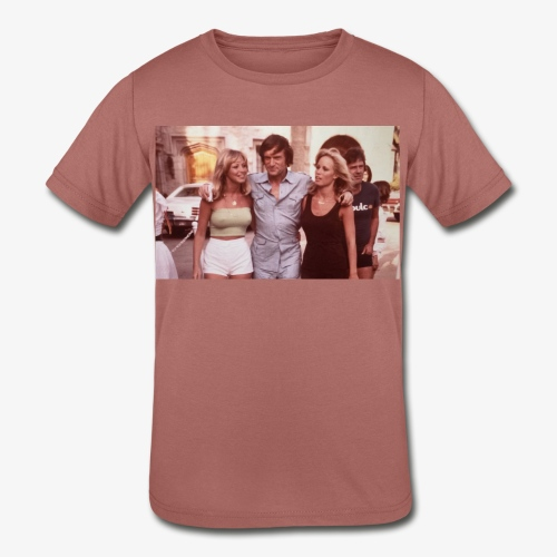 Hugh Hefner - Kids' Tri-Blend T-Shirt