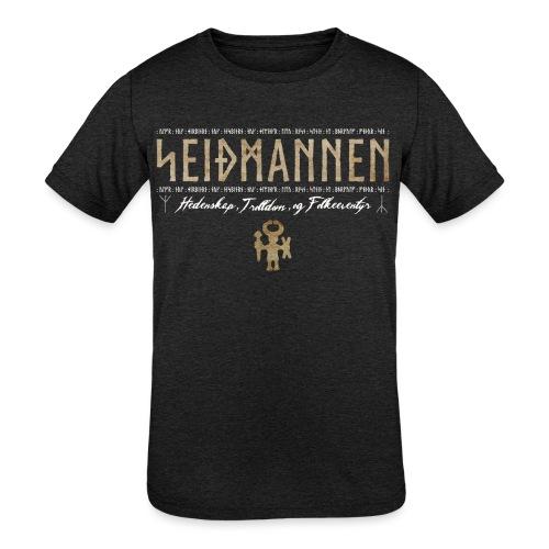 SEIÐMANNEN - Heathenry, Magic & Folktales - Kids' Tri-Blend T-Shirt