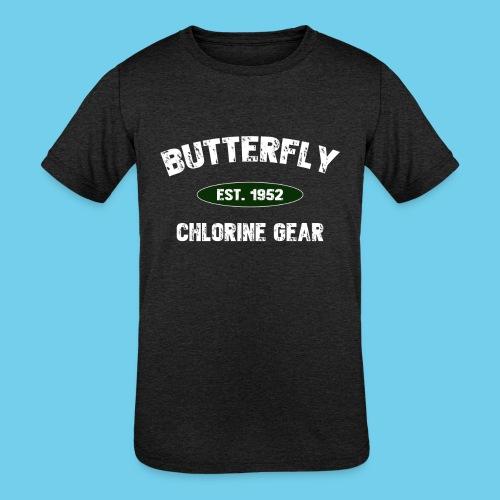 Butterfly est 1952-M - Kids' Tri-Blend T-Shirt