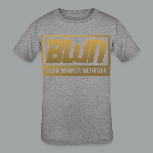 BWN (Gold) - Kids' Tri-Blend T-Shirt