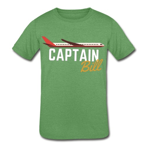 Captain Bill Avaition products - Kids' Tri-Blend T-Shirt
