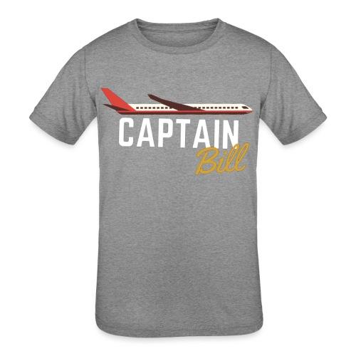 Captain Bill Avaition products - Kids' Tri-Blend T-Shirt