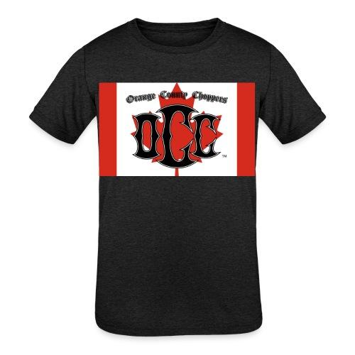 OCC Canada - Kids' Tri-Blend T-Shirt