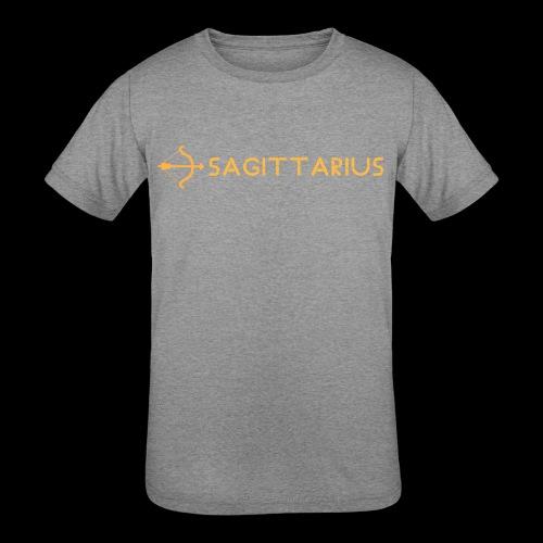 Sagittarius - Kids' Tri-Blend T-Shirt