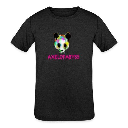 Axelofabyss panda panda paint - Kids' Tri-Blend T-Shirt