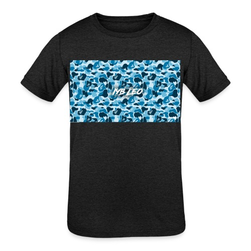 Iyb leo bape logo - Kids' Tri-Blend T-Shirt